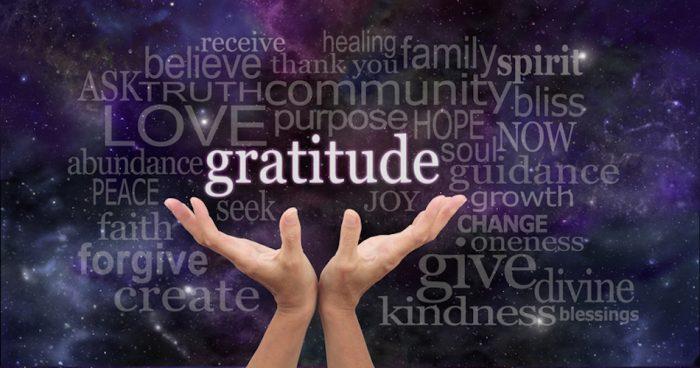 Gratitude is Key