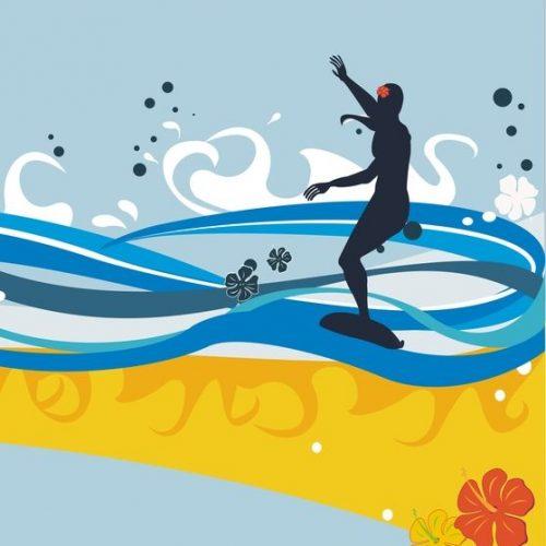 Divine Feminine Surfer