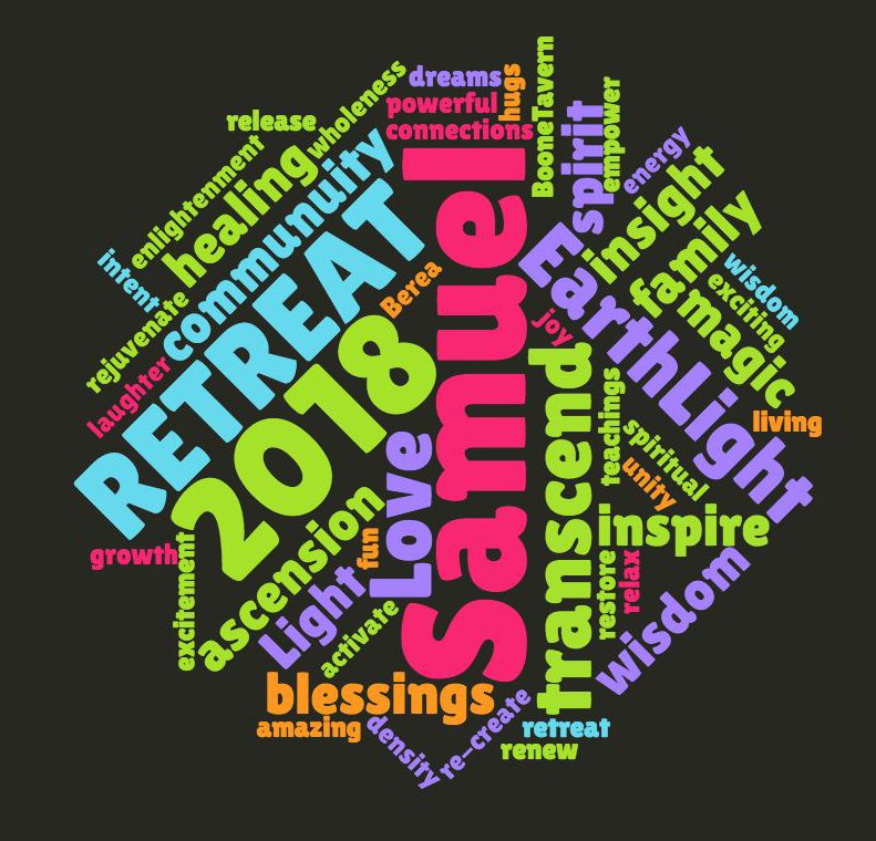 2018 Retreat word cloud